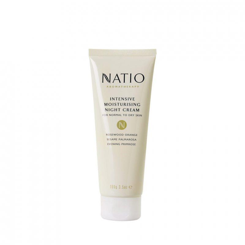 Natio アロマセラピー インテンシブモイスチャライジングナイトクリーム 100g
