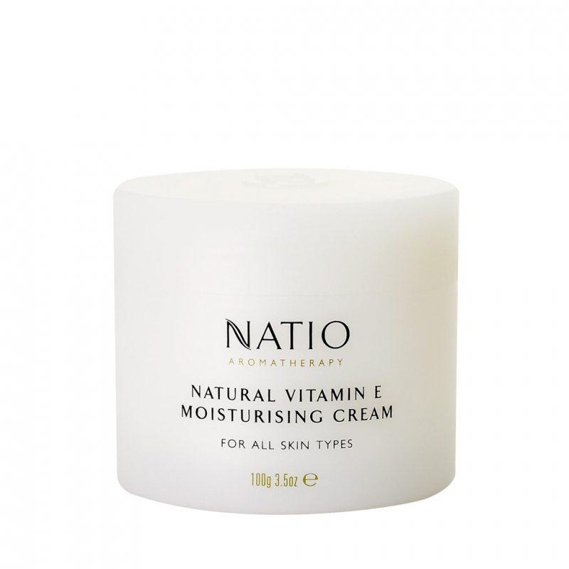 Natio アロマセラピー ナチュラルビタミンEモイスチャライジングクリーム 100g