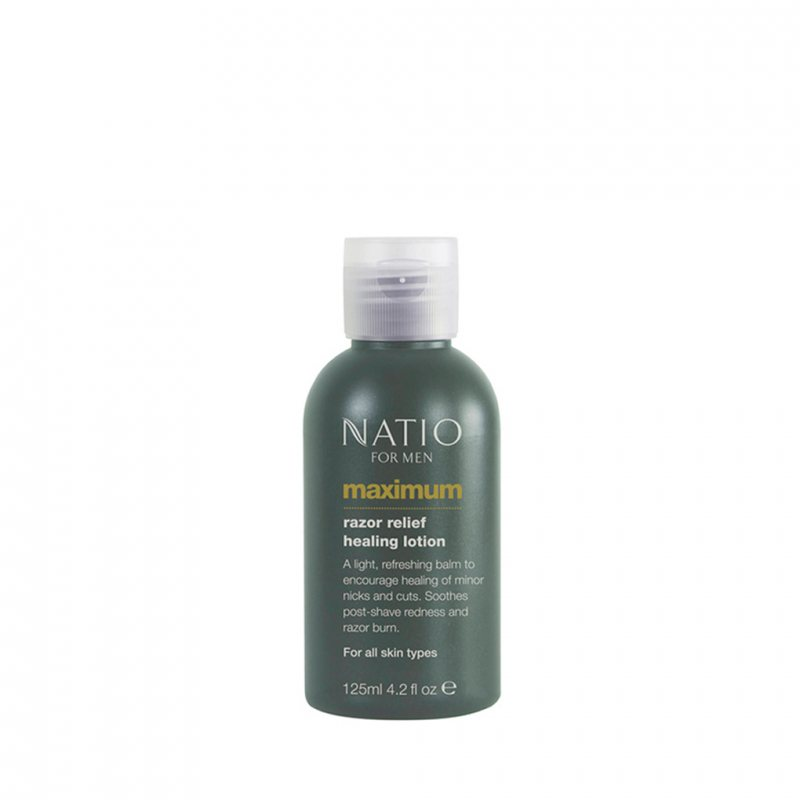 Natio フォアメン マクシマム レーザーリリーフヒーリングローション 125ml