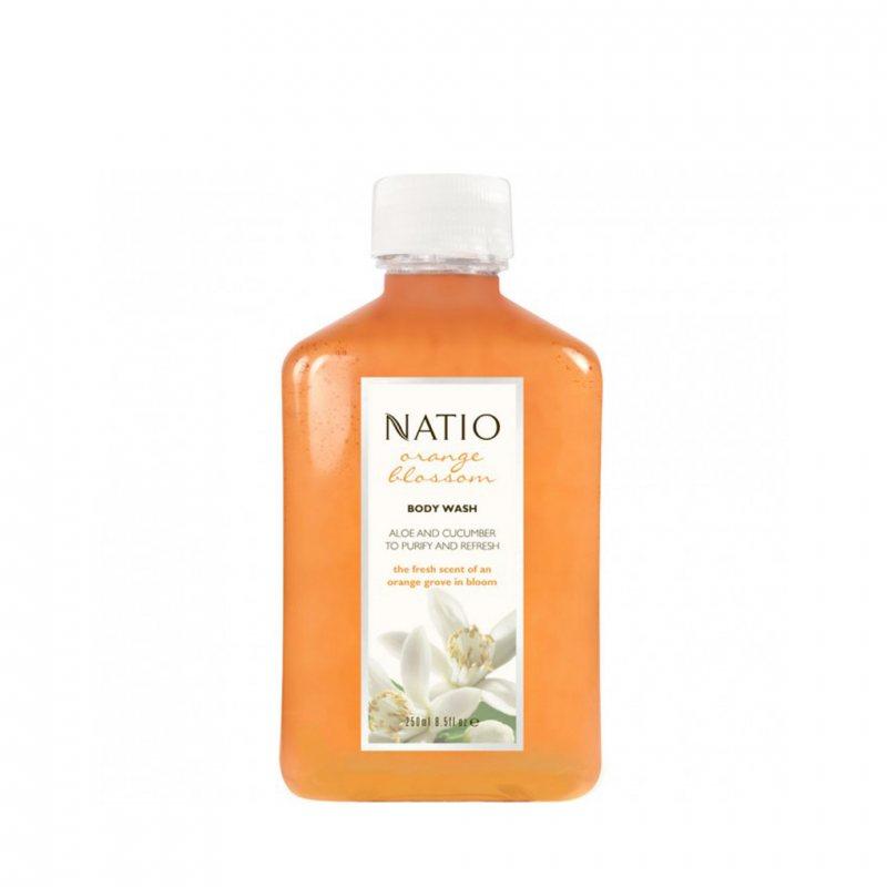 Natio オレンジブロッサム ボディウォッシュ 250ml