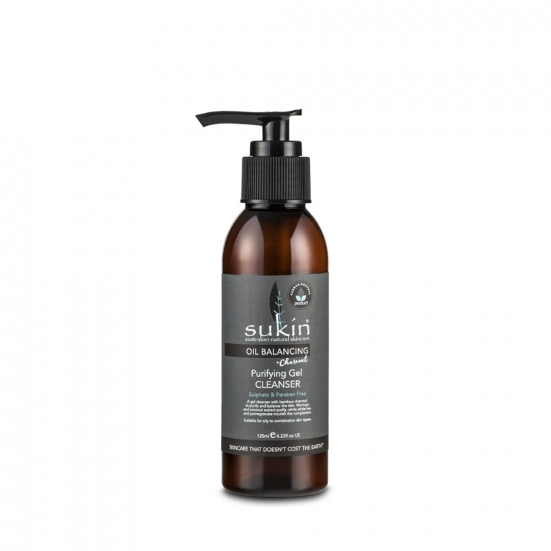 Sukin オイルバランシング ピューリファイングジェルクレンザー(混合肌・脂性肌用ジェルタイプの洗顔) 125ml