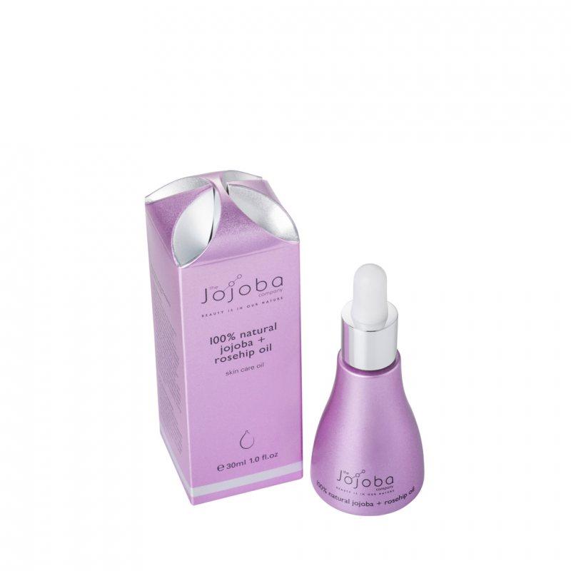 The Jojoba Company ホホバとローズヒップ スキンケアオイル 30ml