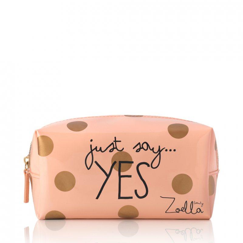 "Zoella Beauty ""Just Say Yes"" ビューティーコスメポーチ"