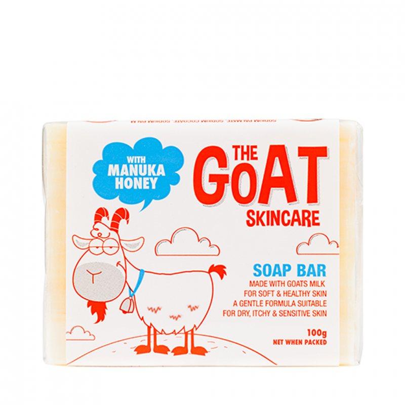 The Goat Skincare ゴートミルクとマヌカハニー ソープ 100g
