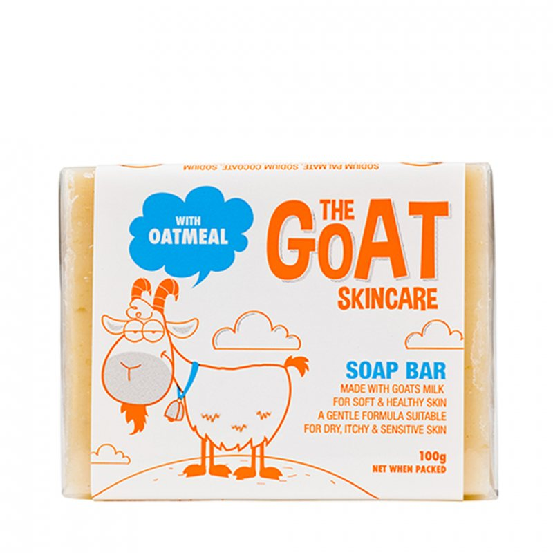 The Goat Skincare ゴートミルクとオートミール ソープ 100g