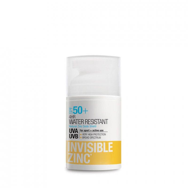 Invisible Zinc サンスクリーン ウォータープルーフ4HR SPF50+