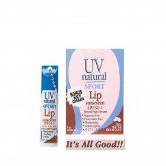 UV Natural サンスクリーン スポーツ リップ SPF30+ 5g