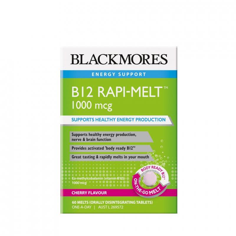 Blackmores B12 ラピメルト 1000mcg 60錠