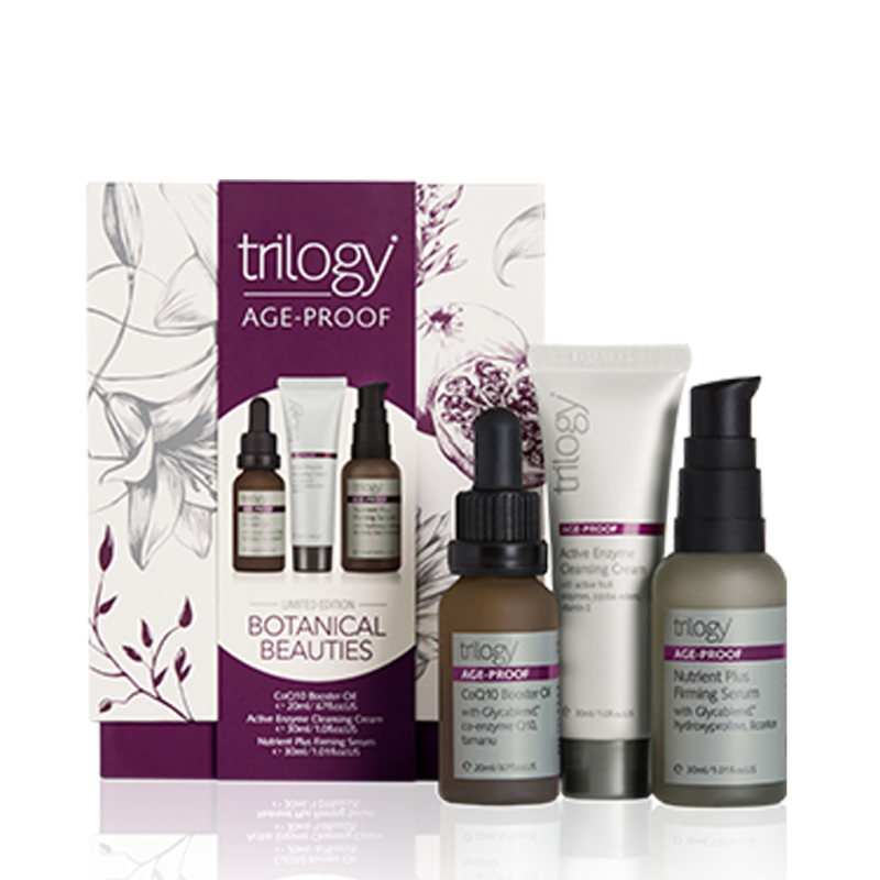 Trilogy エイジングケア 3点セット「Age-Proof Botanical Beauties」