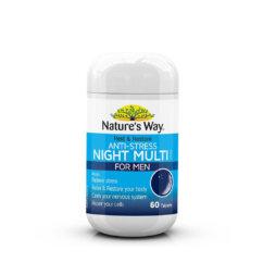 Nature's Way アンチストレス ナイト マルチビタミン フォーメン 60錠