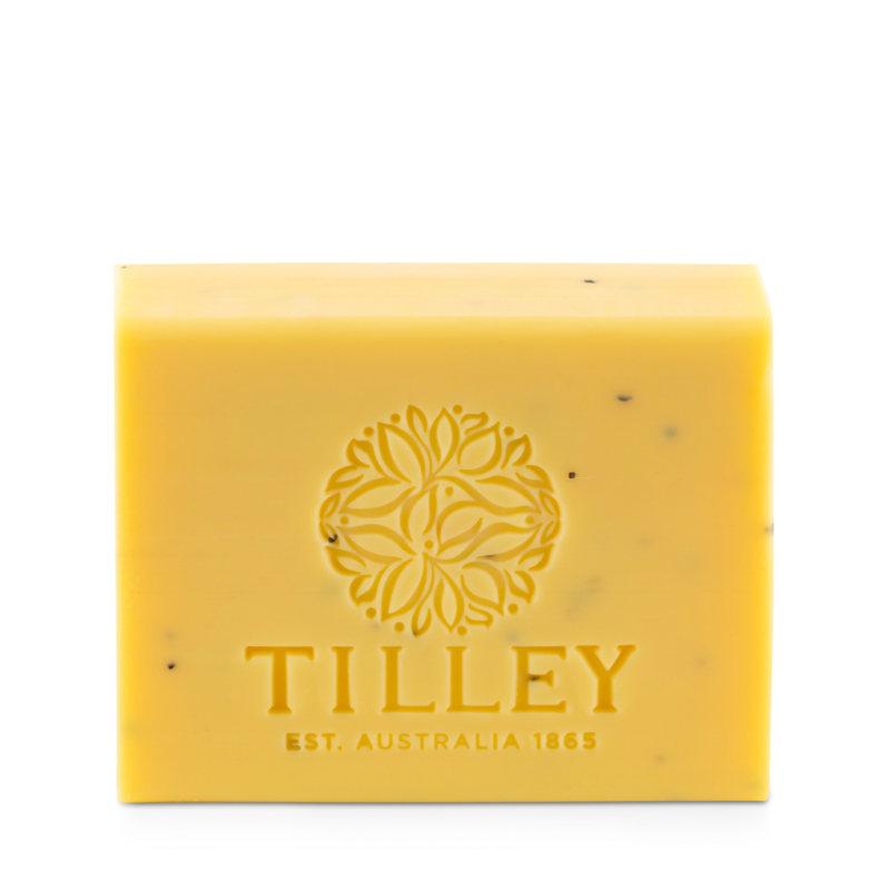 Tilley Australia パッションフルーツ&ポッピーシード ベジタブルソープ 100g