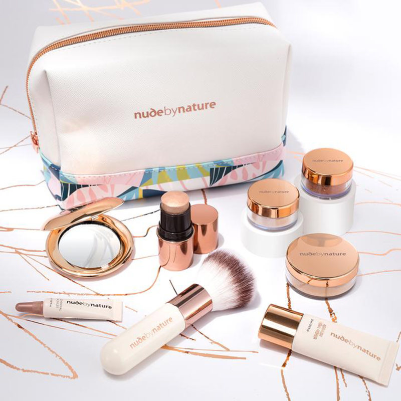 Nude By Nature グッド・フォー・ユー コンプレクション コレクション「delight」8点セット