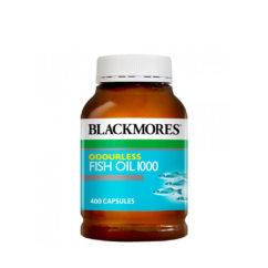 Blackmores オドレス フィッシュオイル1000 400錠